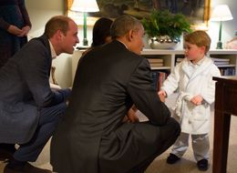 Prince George's Personalised Gown Has Been A Huge Hit