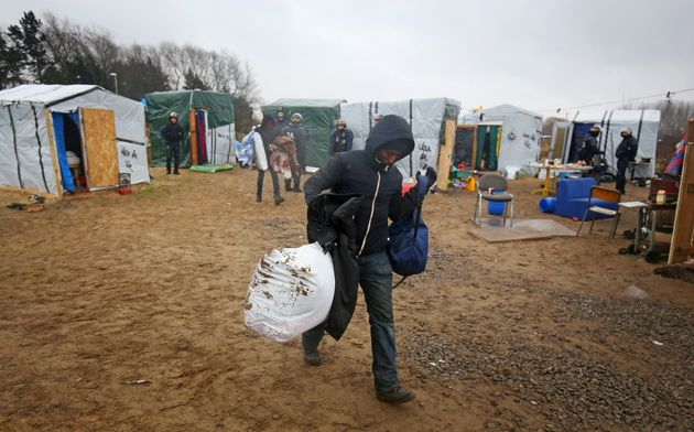 The Jungle camp for migrants in