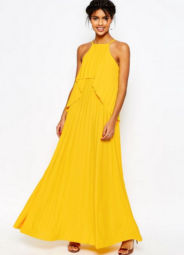 Beyonce yellow fringe dress