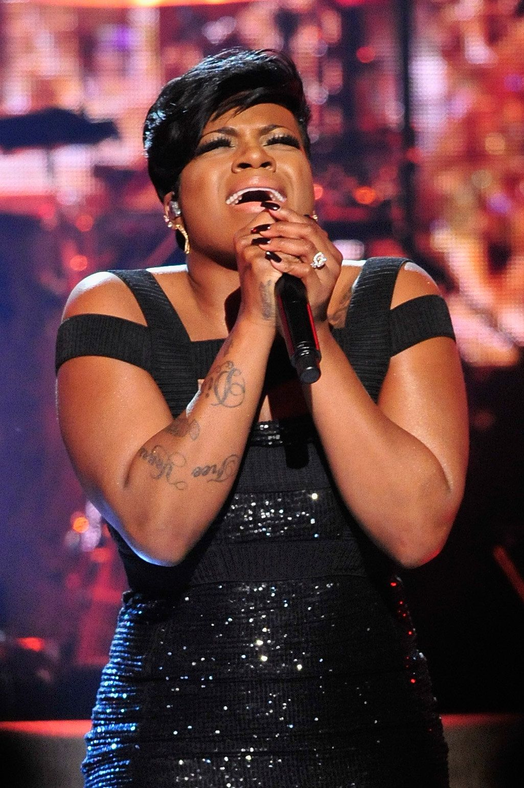 WASHINGTON, DC - MARCH 05:  Recording artist Fantasia Barrino performs on stage during the BET Honors 2016 Show at Warner Theatre on March 5, 2016 in Washington, DC.  (Photo by Kris Connor/BET/Getty Images for BET)