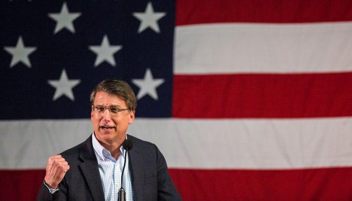 North Carolina Gov. Pat McCrory (R) is really concerned about where transgender people go to pee.