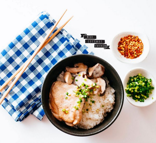 "Get the <a href=""http://iamafoodblog.com/miso-coconut-chicken/"" target=""_blank"">Miso Coconut Chicken recipe</a> on I am a foo"