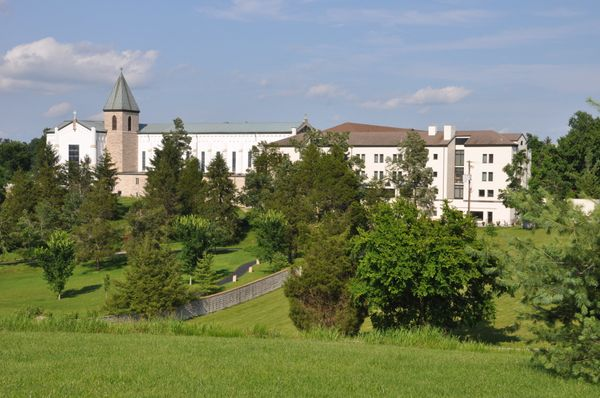 The Abbey of Gethsemani is likely best known for one of its most famous former residents, the journalist and Trappist monk <a