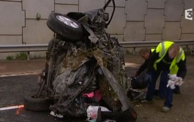 Three people were killed in the horrific car crash on