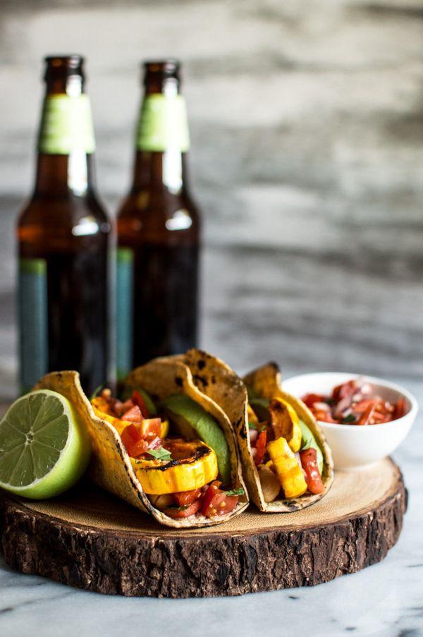 """Get the <a href=""""http://healthynibblesandbits.com/harissa-miso-delicata-squash-tacos/"""" target=""""_blank"""">Harissa Miso Delicata"""