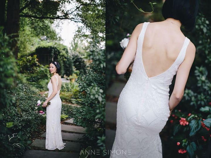Your wedding dress looks<i> far</i> more gorgeous on your body than it does&nbsp;dangling&nbsp;on some&nbsp;hanger. Photographer Anne Simone&nbsp;advises brides to skip that&nbsp;shot, so the photographer can capture some of the more precious moments instead.