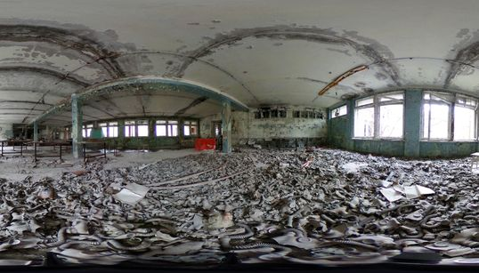 360 Degree Chernobyl Photos Show A Ghost Town Untouched For 30