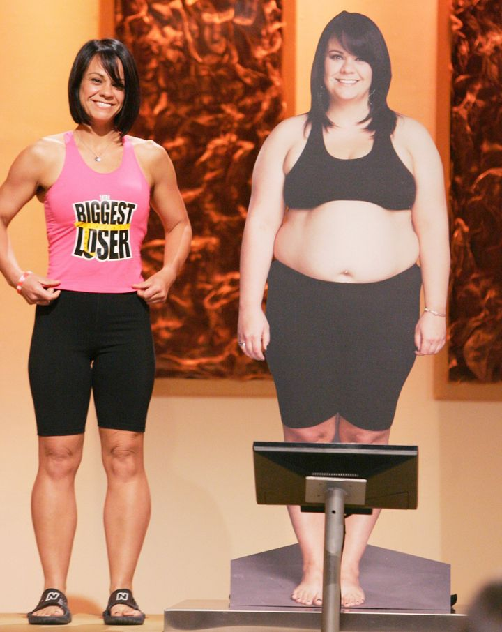 "Ali Vincent lost 112 pounds and won ""The Biggest Loser"" in 2008, becoming the first female to ever take the title. However, k"