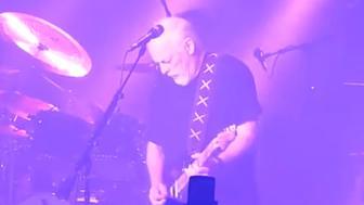 """David Gilmour performs """"Purple Rain."""""""
