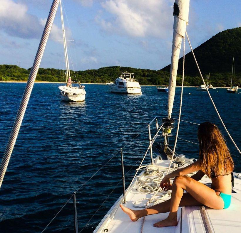 Sailing the BVI's last Christmas!