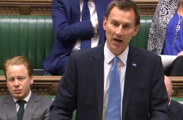 Jeremy Hunt makes a statement in the House of Commons as senior medical leaders urge David Cameron to...