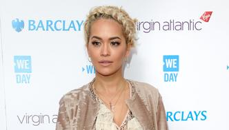 LONDON, ENGLAND - MARCH 09:  Rita Ora arrives for WE Day at SSE Arena on March 9, 2016 in London, England. WE Day is a celebration of youth making a difference in their local and global communities.  (Photo by Karwai Tang/WireImage)