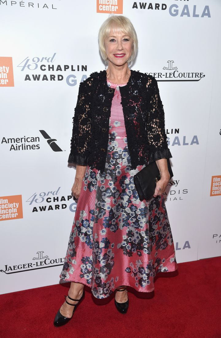 2504f0b22d2a1 Helen Mirren Proves Spring Florals  Can  Be Groundbreaking ...
