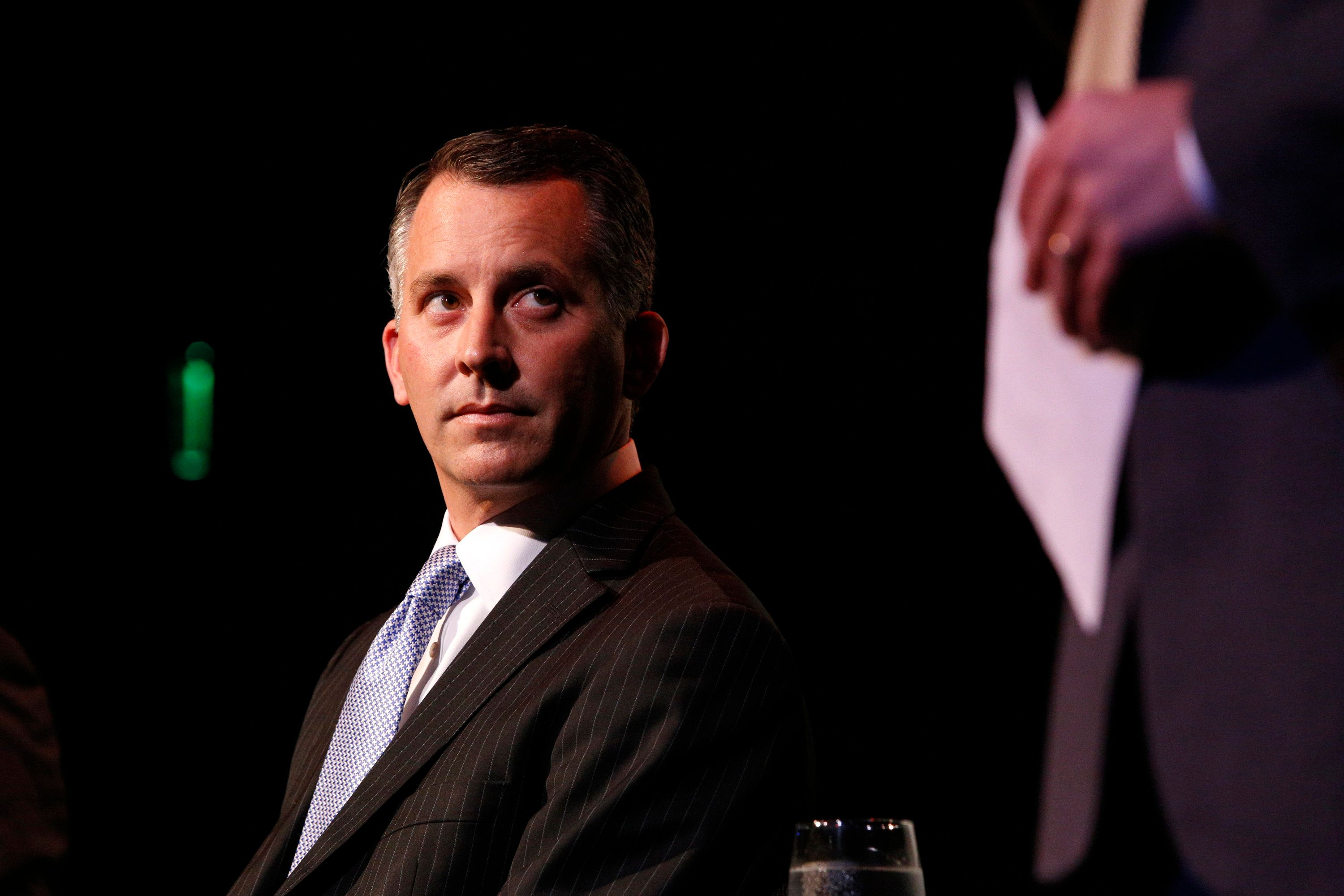 Republican David Jolly waits to speak during a candidate forum with Democrat Alex Sink and Libertarian Lucas Overby, all candidates for Florida's congressional District 13, in Clearwater, Florida, February 25, 2014. Sink and Jolly are in a race for a special election to be held on March 11, 2014 to elect a member of the United States House of Representatives to replace the seat of the late Republican Congressman Bill Young.   REUTERS/Brian Blanco  (UNITED STATES - Tags: POLITICS ELECTIONS)
