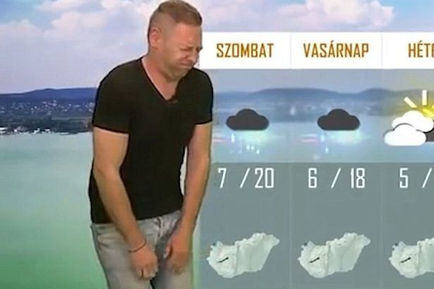 Farting Weatherman Loses Job After 'Breaking Wind' On Live