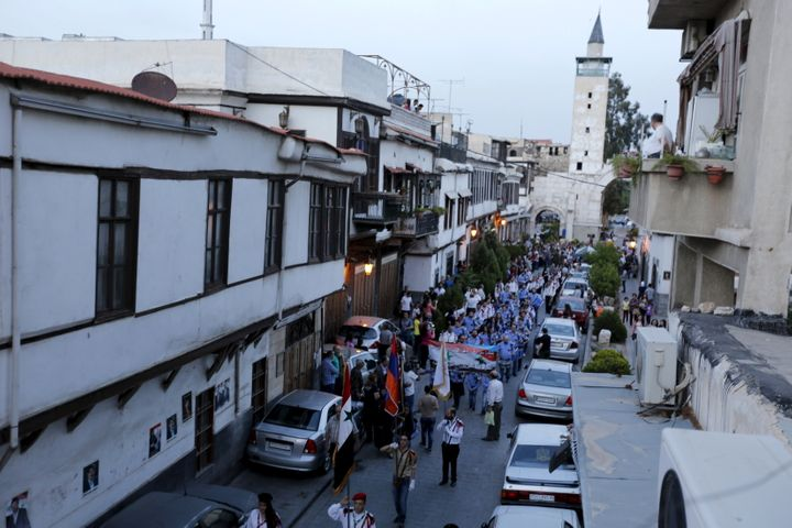 The new regulation requires that Damascus' new arrivals be vetted by securityforces before they can rent or buy a new h