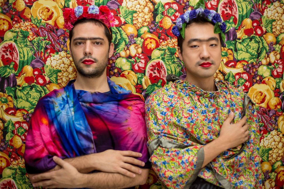 a powerful project lets men women and children become frida kahlo