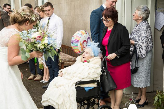 Grandma Martha Becomes Britain's Oldest Bridesmaid On 100th