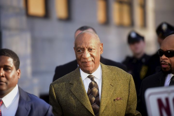 Actor and comedian Bill Cosby departs from a preliminary hearing on sexual assault charges at the Montgomery County Courthous