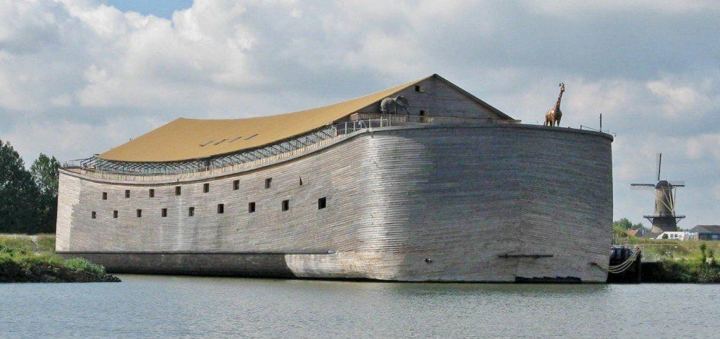 This life-sized replica of Noah's ark is planning to travel from the Netherlands to Brazil this summer.