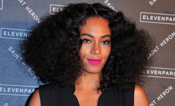 Solange Knowles embodies spring makeup goals.