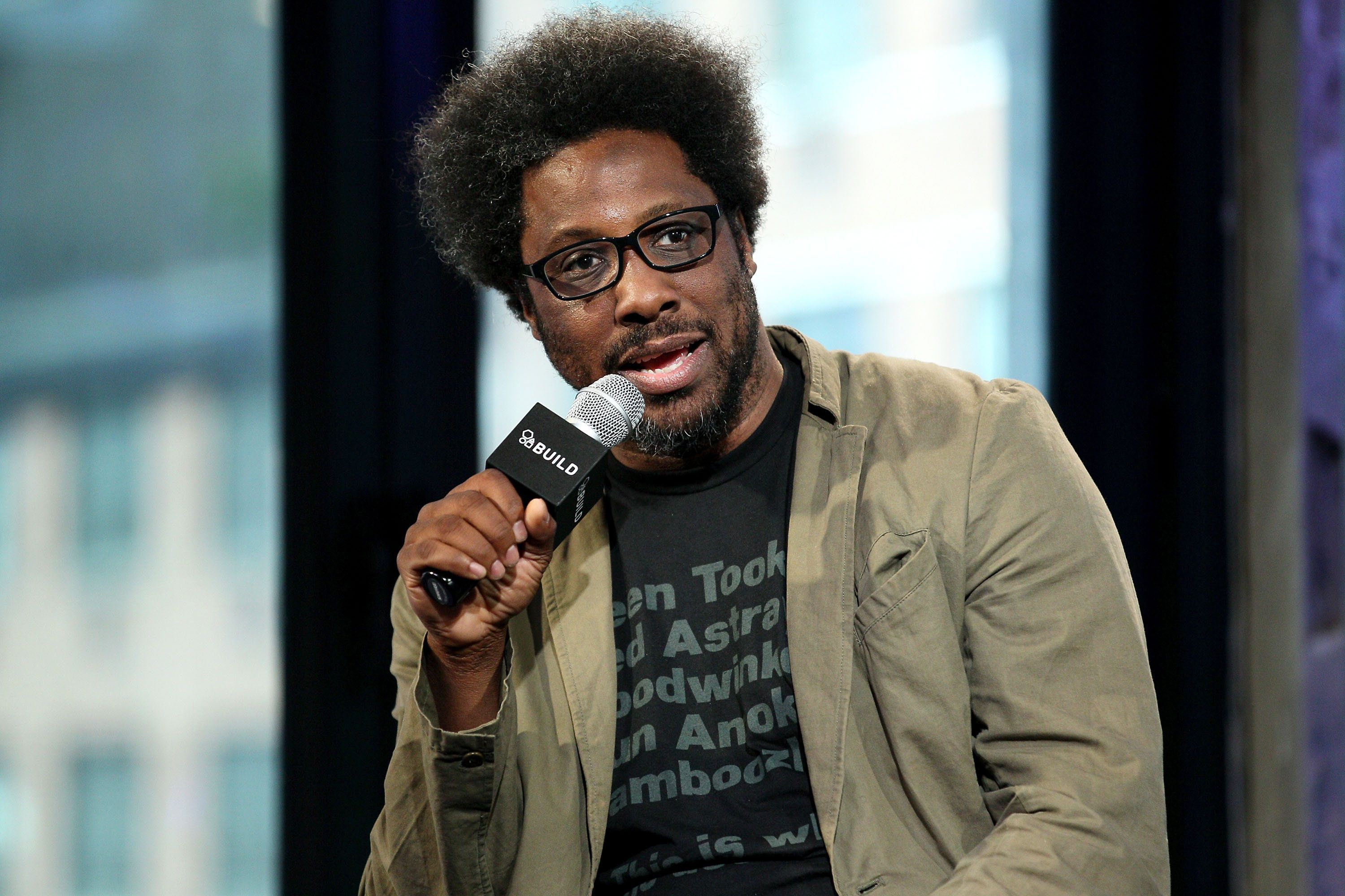 NEW YORK, NY - APRIL 21:  W Kamau Bell attends AOL Build Presents to discuss his Showtime special 'Semi-Prominent Negro' and his CNN docu-series 'United Shades of America' at AOL Studios In New York on April 21, 2016 in New York City.  (Photo by Steve Mack/FilmMagic)