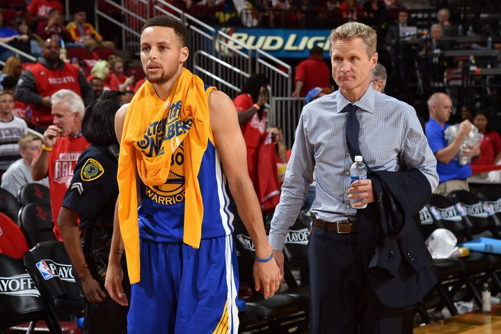 Stephen Curry's sprained knee is surely a cause for concern, but Warriors head coach Steve Kerr has an assortment of capable