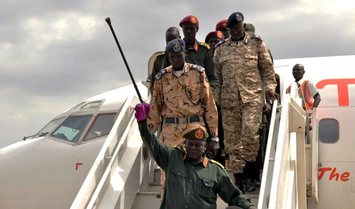 After months of delays, South Sudan's opposition leader Riek Machar returned to the capital city of Juba on Tuesday, a day af