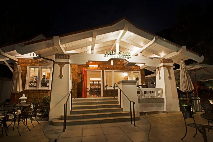 Urth Caffe in Laguna Beach, California.