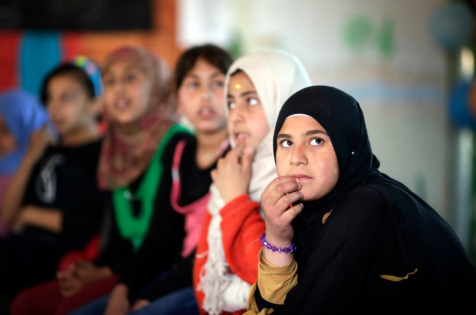 Child marriages are rising among Syrian refugees living in Zaatari camp.