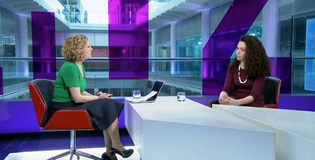 Bouattia told Channel 4's Cathy Newman of the