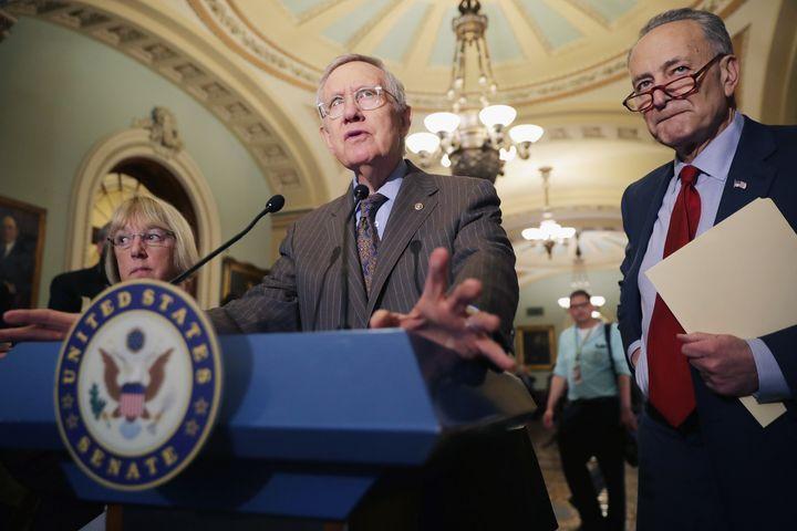 SenateMinority Leader Harry Reid
