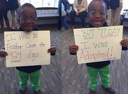 22 Heartwarming Photos Of Kids Adopted From Foster Care