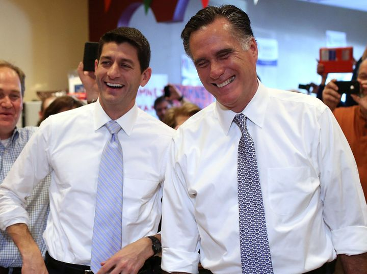 In 2012, former Massachusetts Gov. Mitt Romney and Wisconsin Rep. Paul Ryan challenged the notion that two people of the same