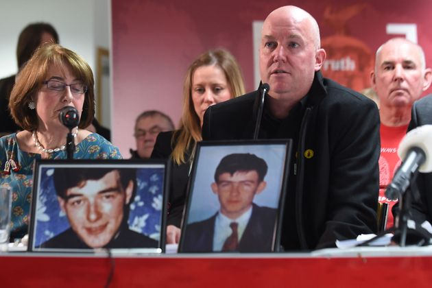 Hillsborough families speaking after the inquest