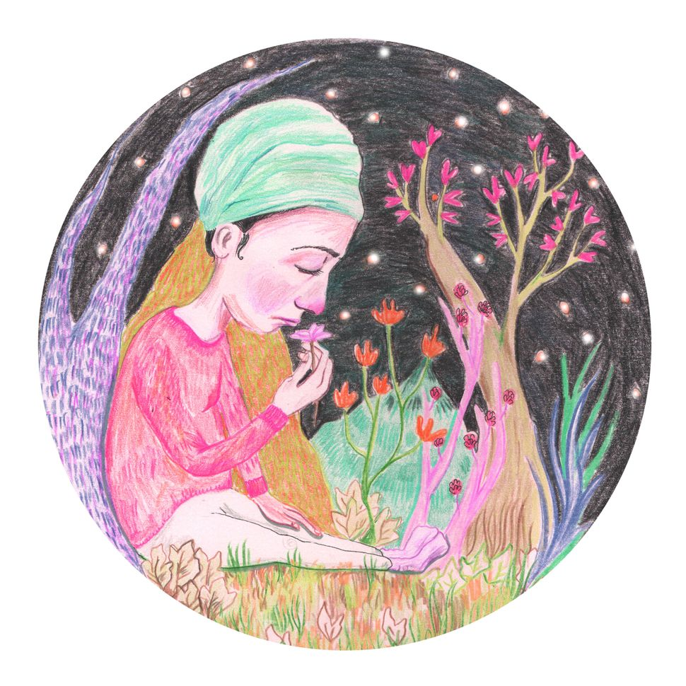 Sikh artist Baljinder Kaur explores themes of identity, faith and daily life in her work.