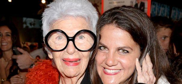 Iris Apfel and RachelShechtman.