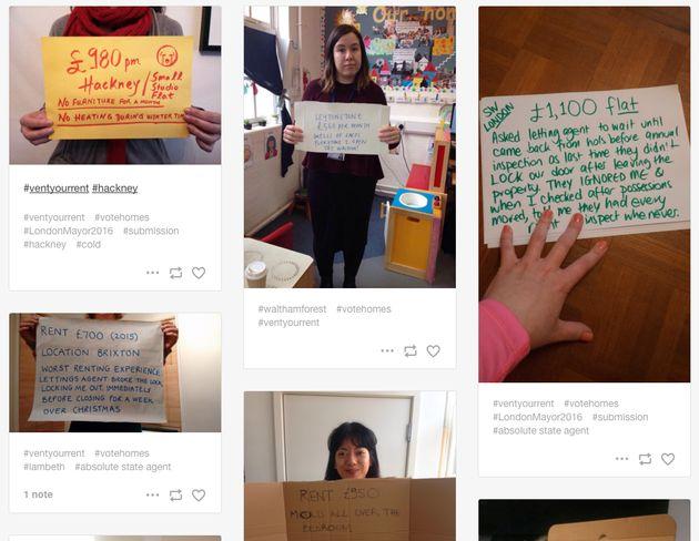 #VentYourRent Campaign Casts Light On London Housing