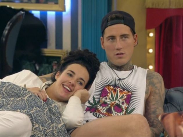 Stephanie and Jeremy during the early days of their relationship, in the 'CBB'