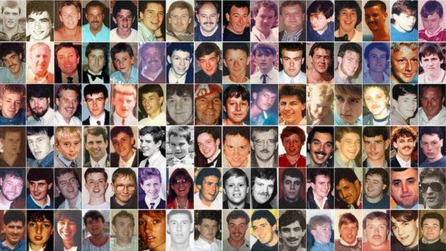 96 people were crushed to death in the LFC Nottingham Forest