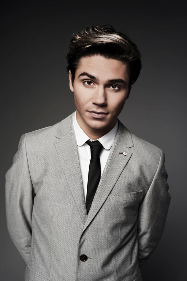 George Shelley decided not to label his sexuality when he admitting he'd had boyfriends and