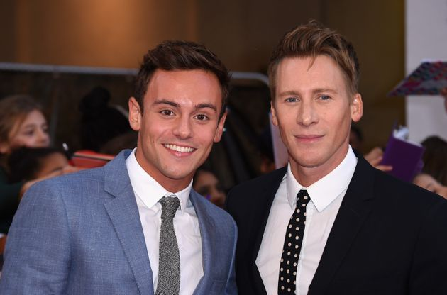 Tom Daley said he still fancied girls when he came out, but is now in a committed realtionship with Dustin...