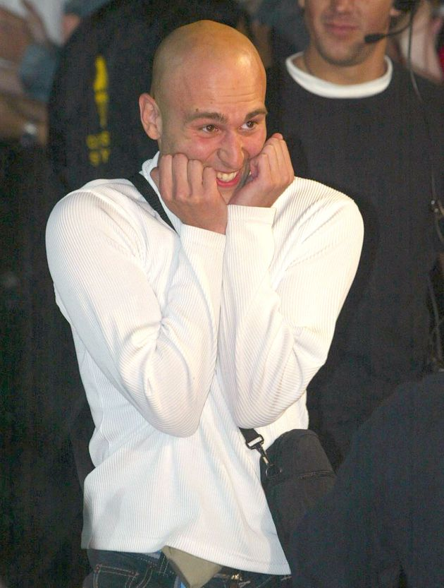 Marco Sabba was the first housemate to enter the 'BB' house in