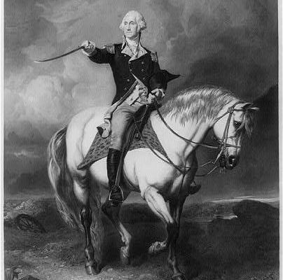 George Washington was widely respected for leading American forces during the Revolutionary War.