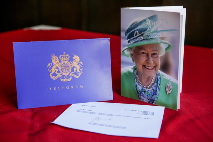 A message from the Queen to Nellie Wright who recently celebrated her 109th birthday and attributes her longevity to Jelly Ba