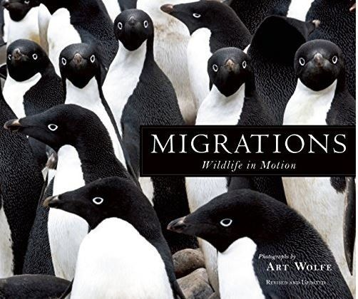 The cover of Art Wolfe's new book.