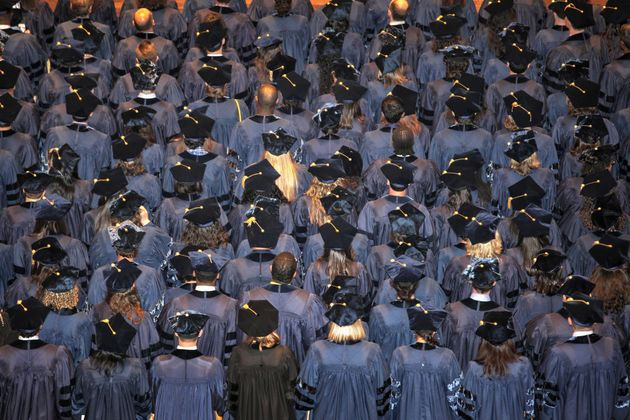 American university graduates benefit from a system of generous