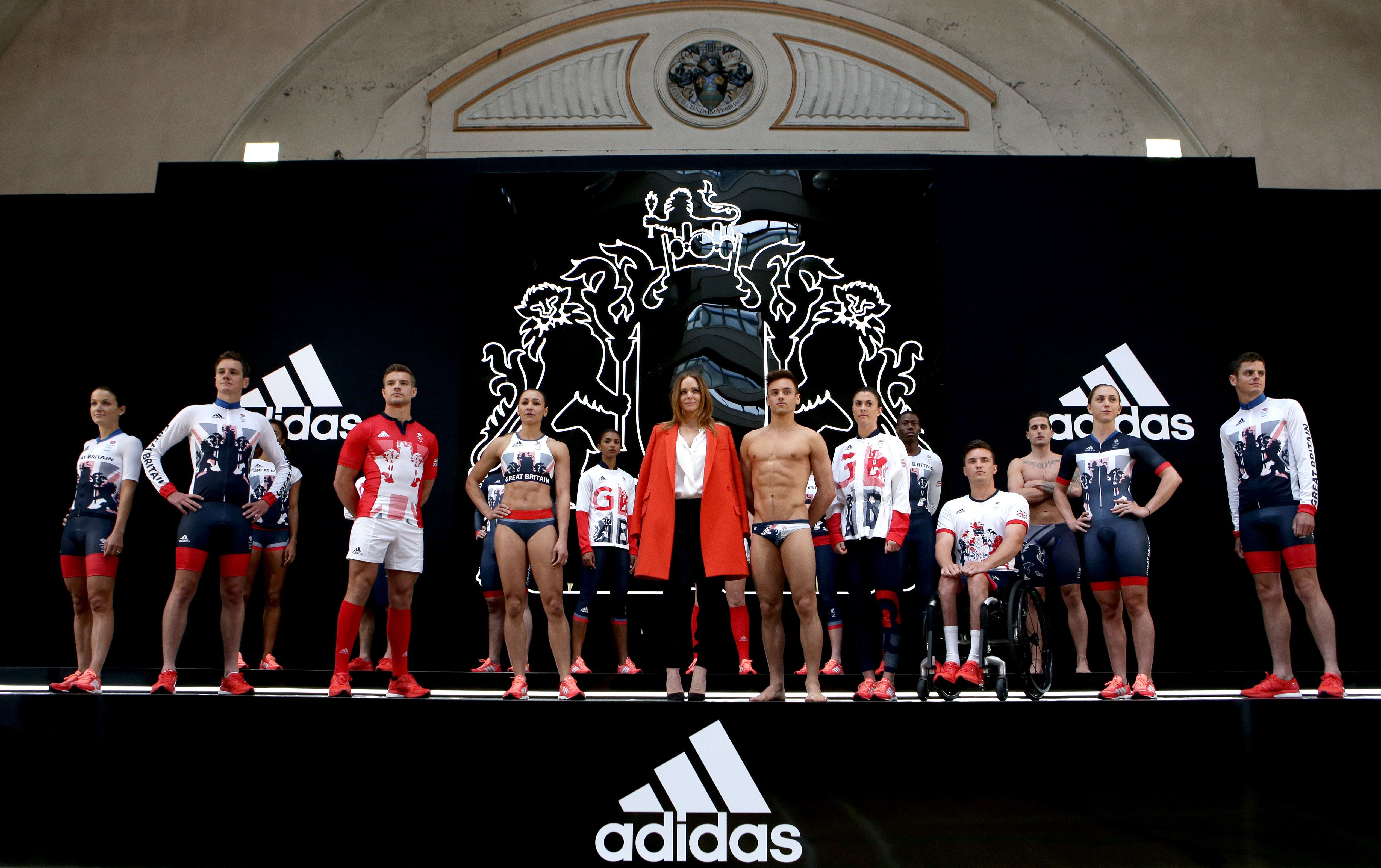 Team GB And Paralympics GB Kit Revealed For Rio