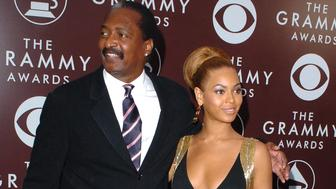 Mathew Knowles and daughter Beyonce (Photo by SGranitz/WireImage for The Recording Academy (View ONLY))
