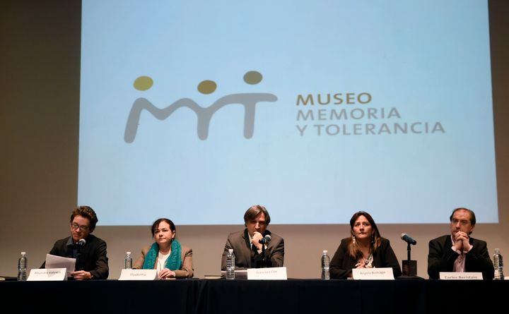 Alejandro Valencia, Claudia Paz, Francisco Cox, Angela Buitrago and Carlos Beristain are the human rights experts the IACHR d